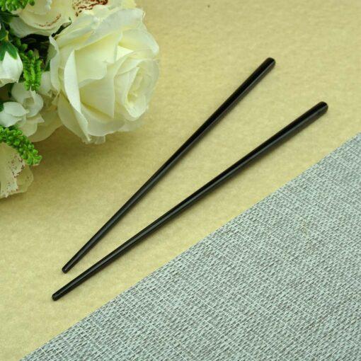 Суши палочки с гравировкой Black
