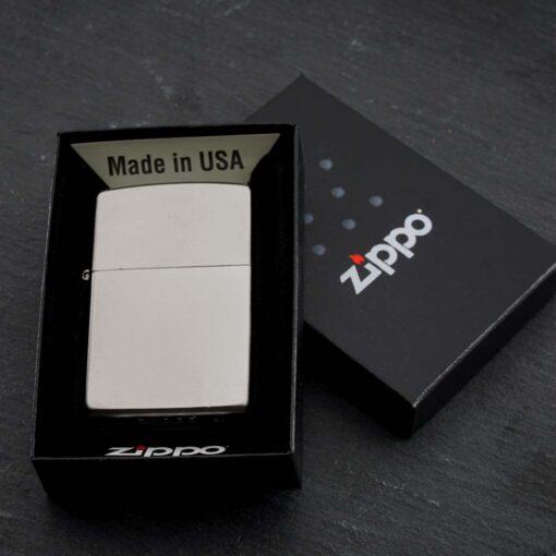 Зажигалка Zippo 205 Silver Matt